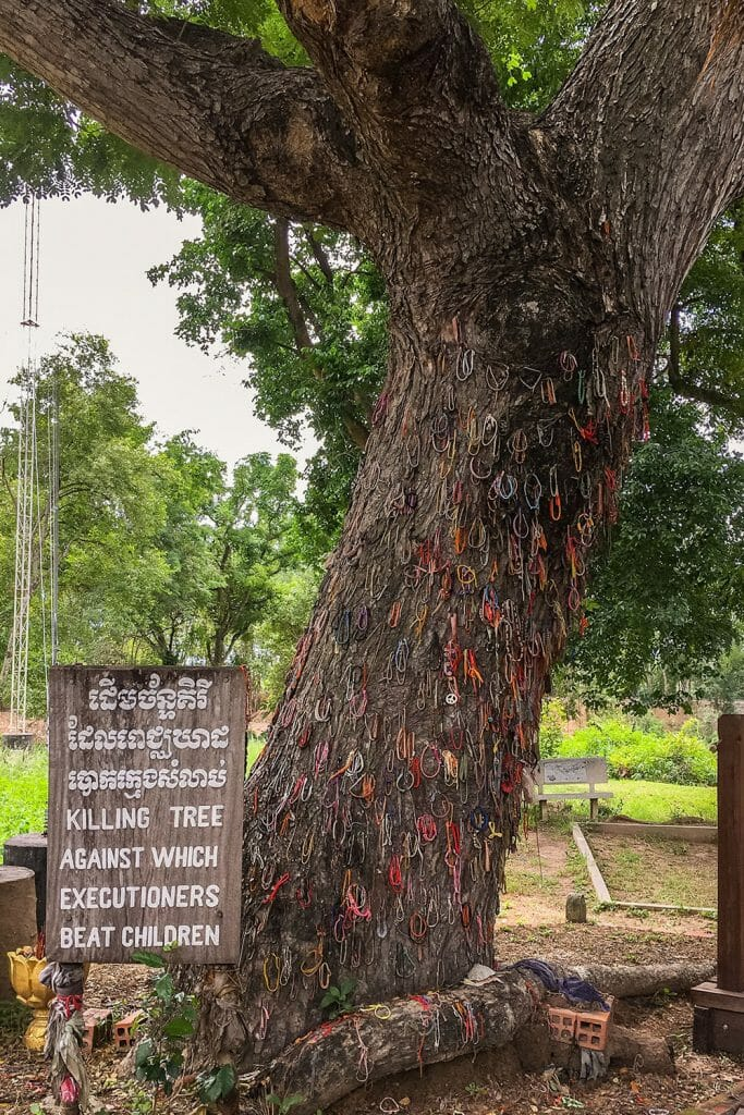 Killing Fields Tree Children Cambodia