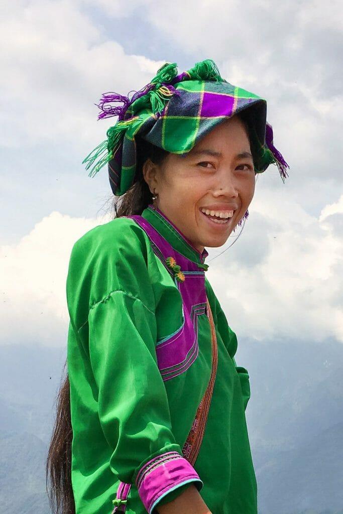 Hmong Girl Sapa Vietnam