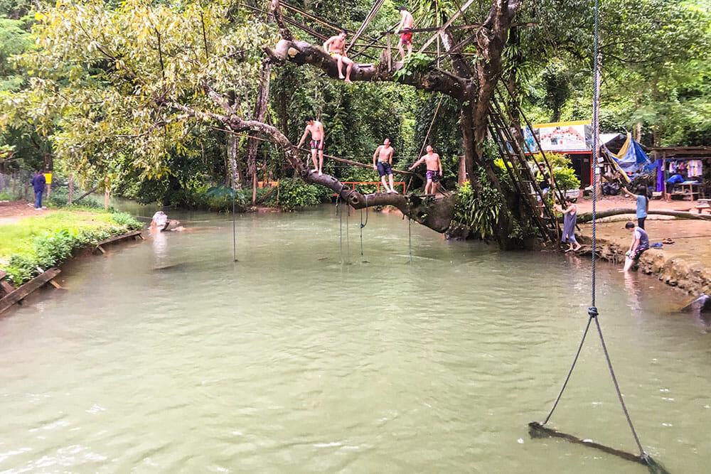 Blue Lagoon, Vang Vieng Laos