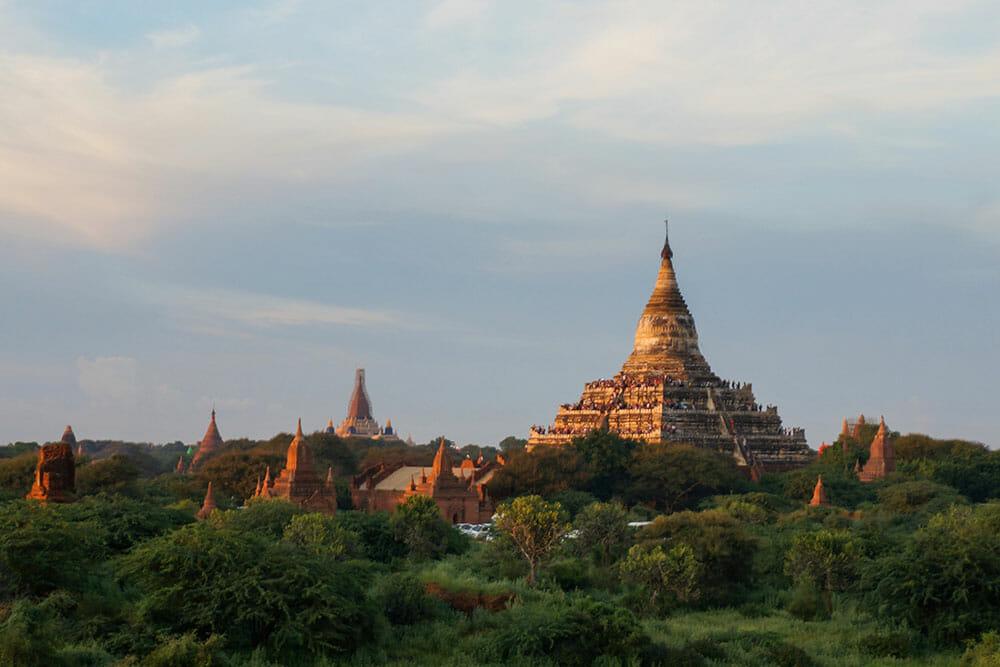 Shwesandaw Pagoda Bagan Myanmar Burma