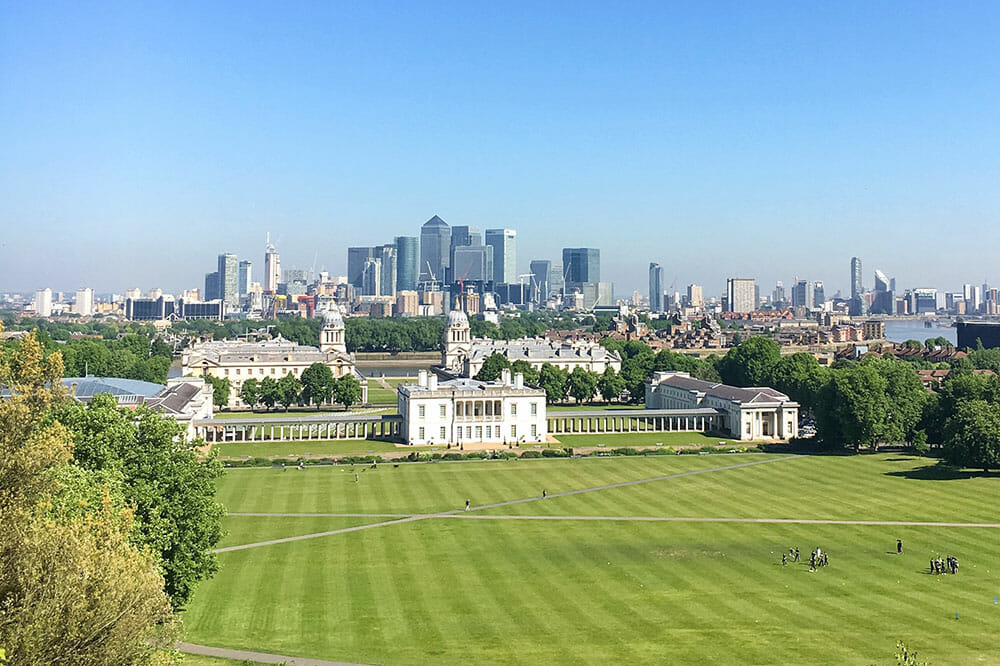 london greenwich naval college park