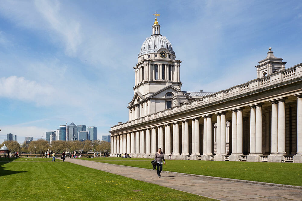 london greenwich naval college