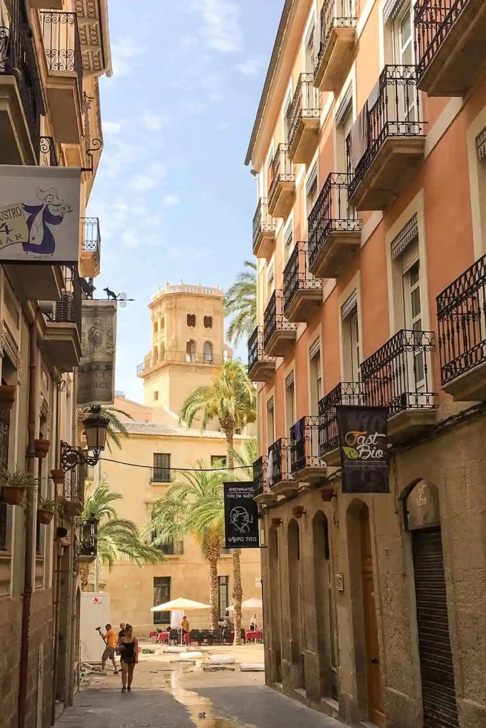 Alicante Spain Old Town