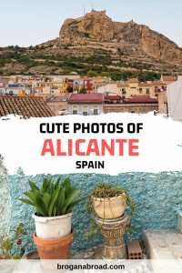 Alicante Old Town Photos