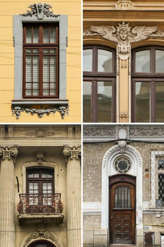 Bucharest Romania Armenian Quarter Architecture