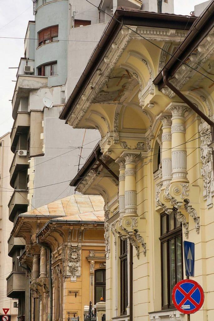 Bucharest Romania Armenian Quarter Brazilian Embassy