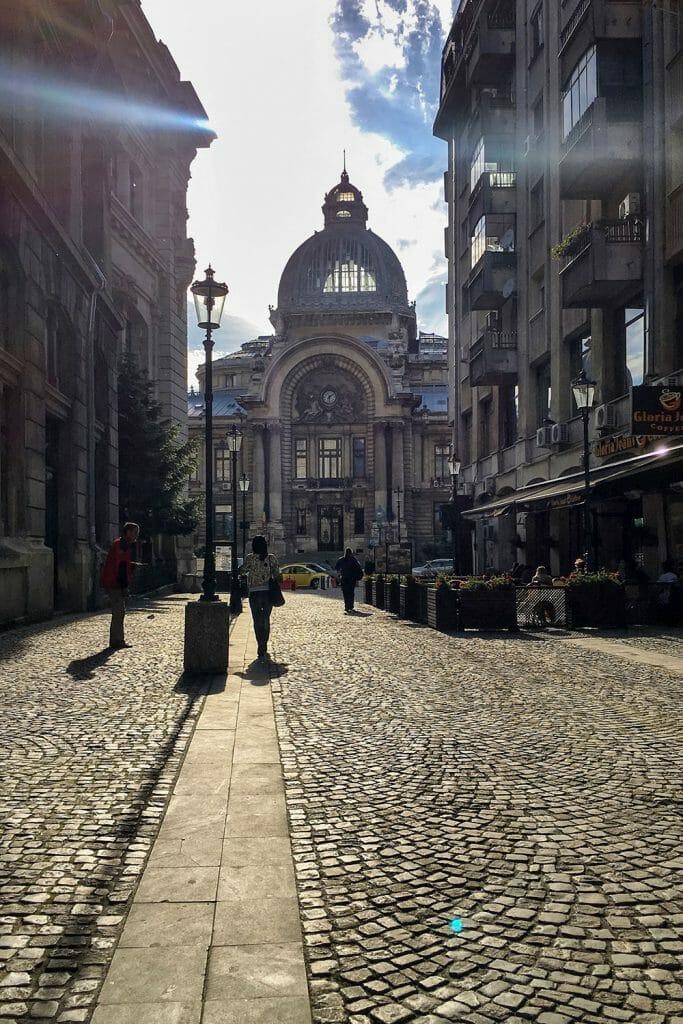 Bucharest Romania CEC Palace