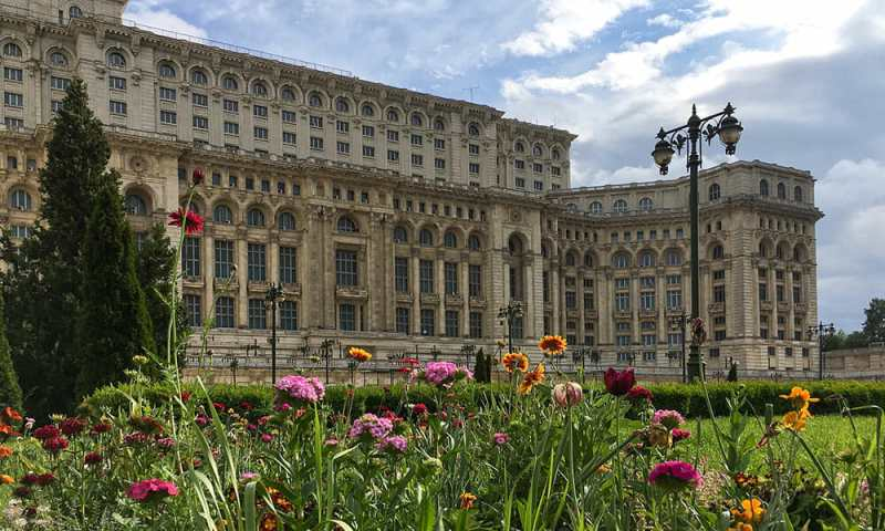Bucharest Romania Palace Parliament