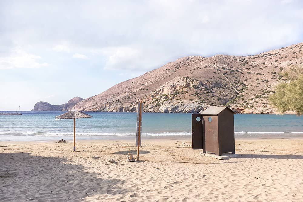 Galissas Beach Syros Greece