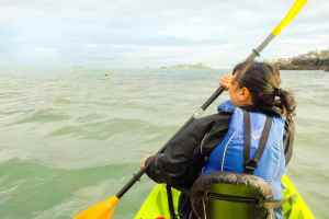 Adventure in Dublin Kayaking in Dalkey, County Dublin Ireland