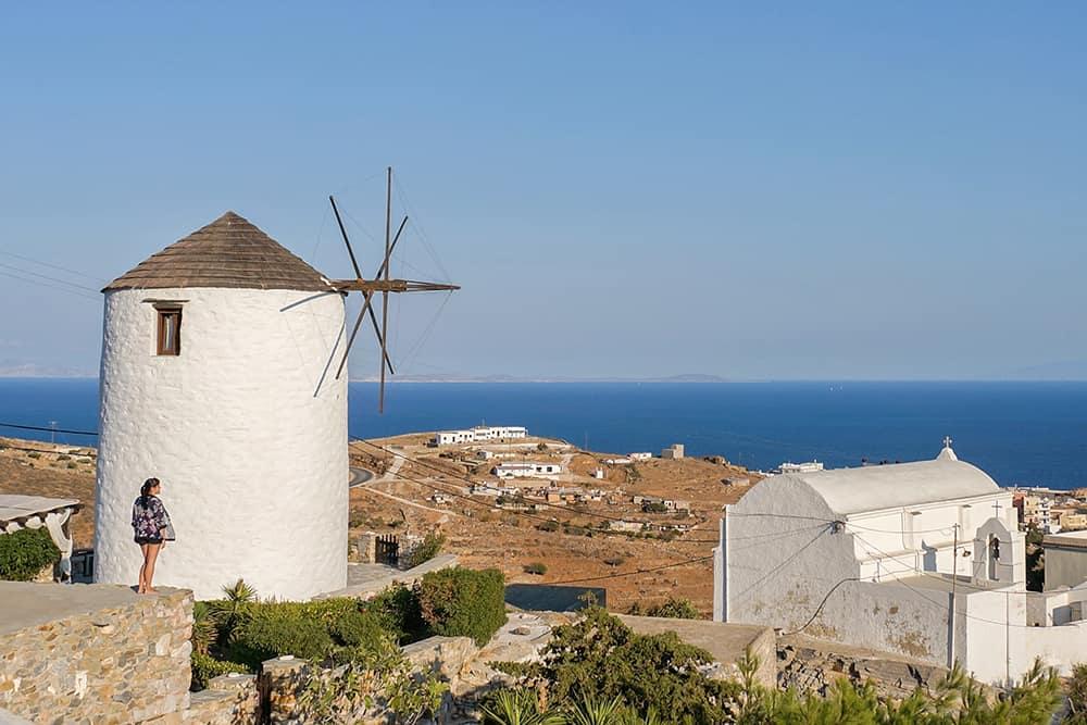 Ano Syros windmill greece