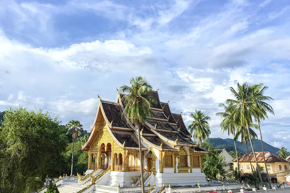 Temple in Luang Prabang in Laos