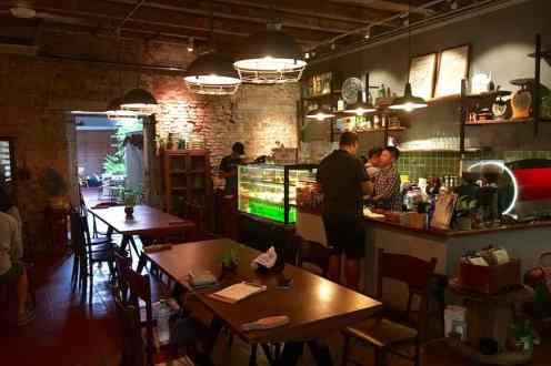 Cafe in Malacca Malaysia