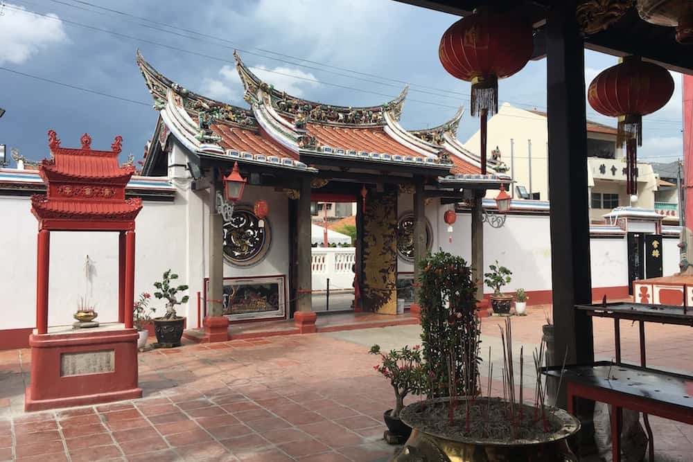 Chinese Temple in Malacca Malaysia