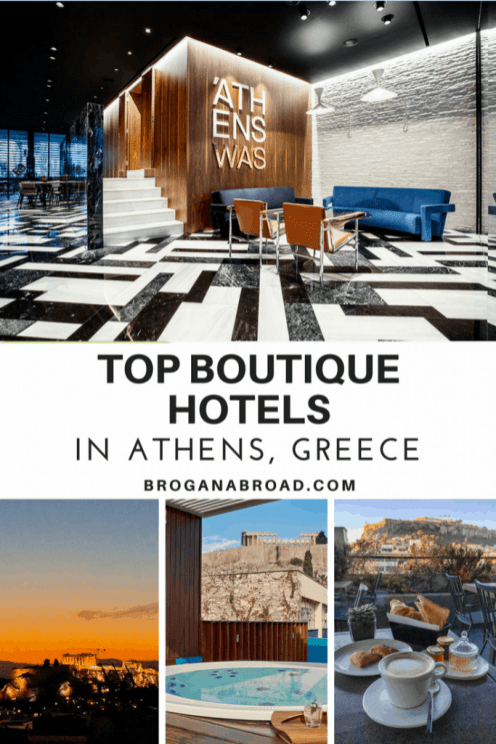 Top boutique hotels in athens greece brogan abroad for Great small hotels