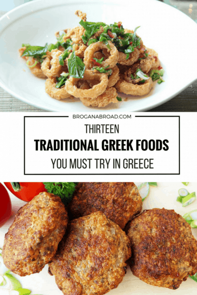 13 Traditional Greek Foods You Must Try in Greece