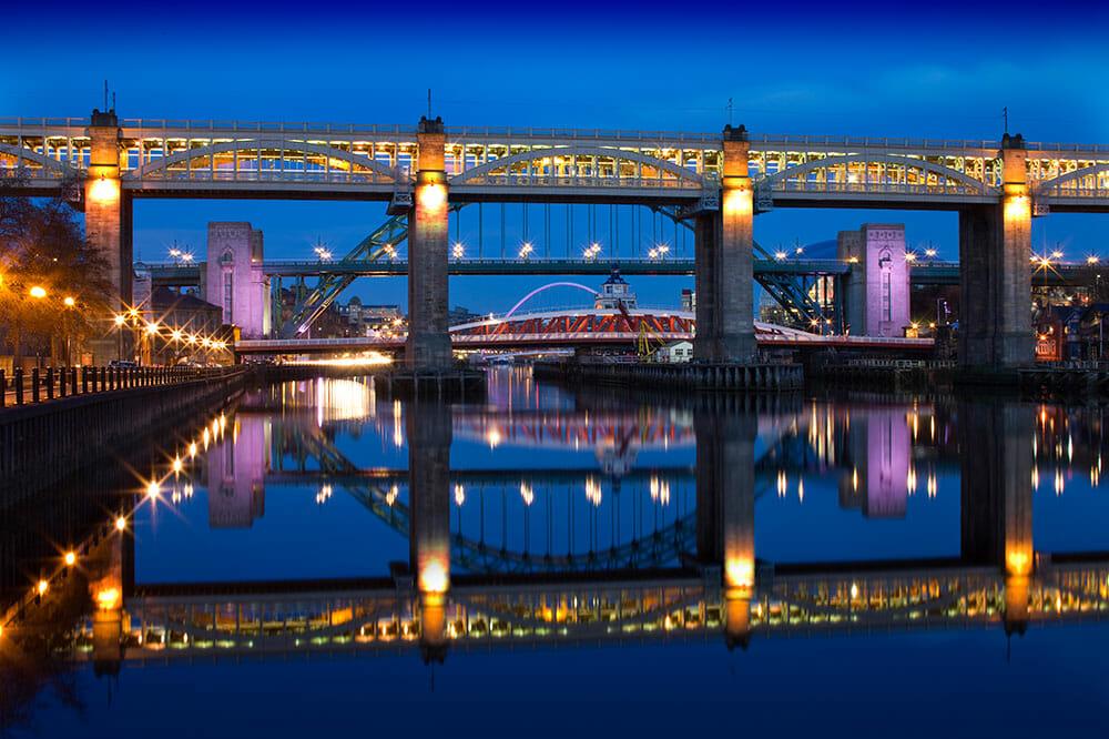 Newcastle Gateshead Bridges