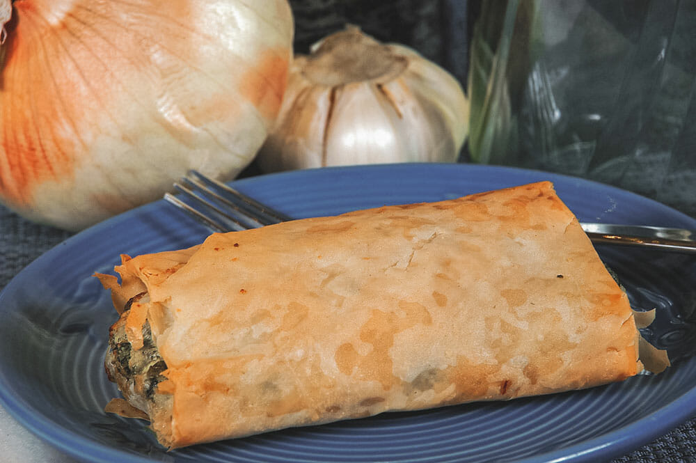 Greek Food Spanakopita Spinach Pie