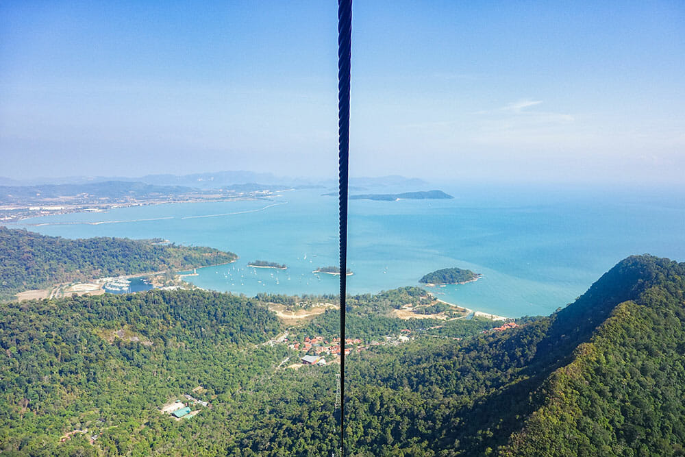 Langkawi Cable Car, Malsaysia