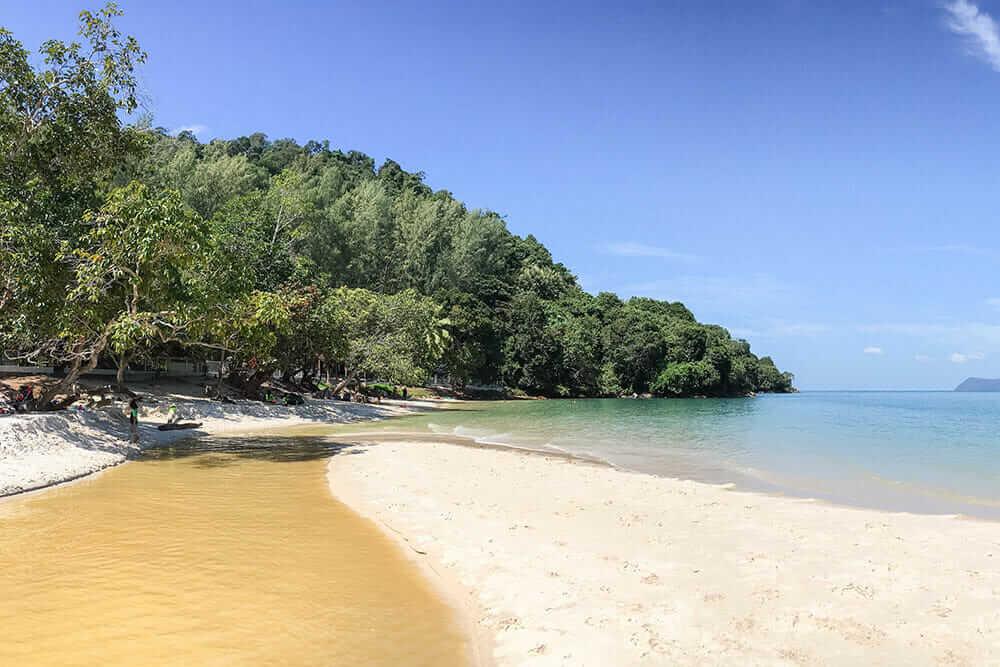 Sandy Skulls Beach Langkawi, Malaysia