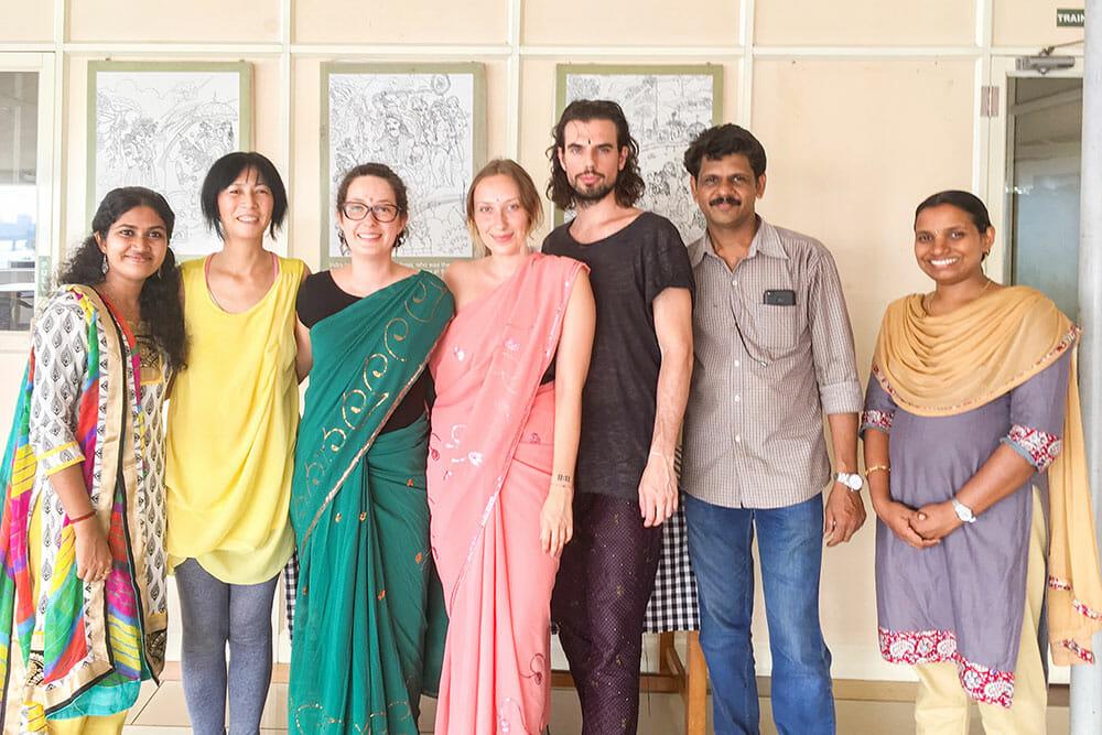 Ayurvedic Course Graduation at Kerala Ayurveda Academy