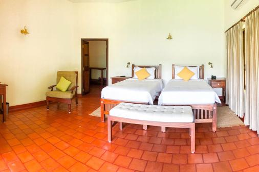 The rooms at Windermere River House in Neriamangalam are very spacious - #munnar #kerala #india