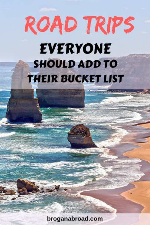 Six of the most incredible drives that everyone should have in their road trip bucket list. Covering road trips in Europe, Asia, America and Australia. #roadtrips #bucketlist #travel