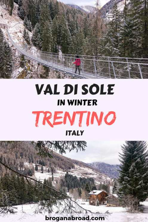 If you are planning a holiday in the snow, Val di Sole in Trentino has something for everyone, whether you are a skier or not. Here are eight awesome things to do in Trentino in winter. #Trentino #Italy #snowholidays