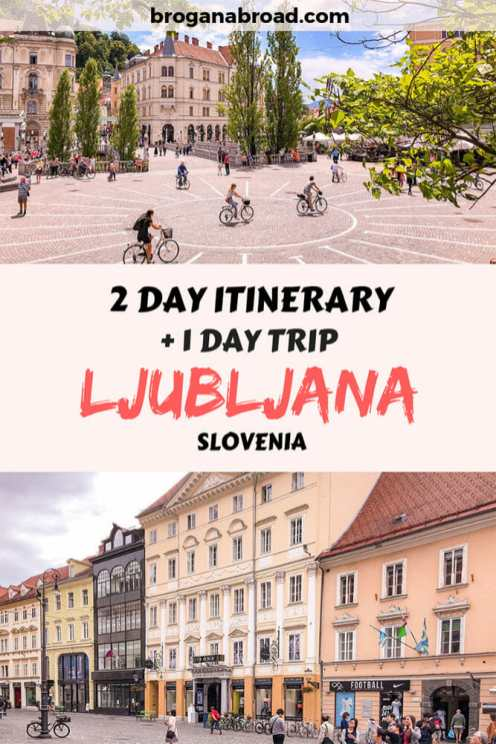 Spending 2 days in Ljubljana? Here is the best Ljubljana itinerary. Top things to do in Ljubljana, plus a day trip to Postojna Caves and Predjama Castle. Check out my recommendations for the best places to visit in Ljubljana in 2 days, including where to stay, what to eat and the best #Ljubljana attractions! #Slovenia #travel