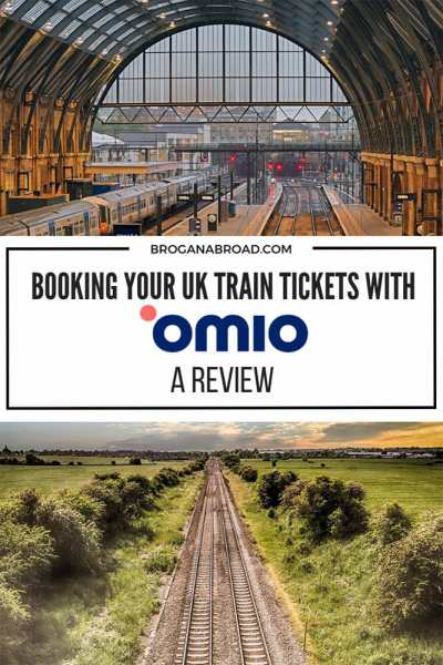 Booking Train tickets with Omio - A Review