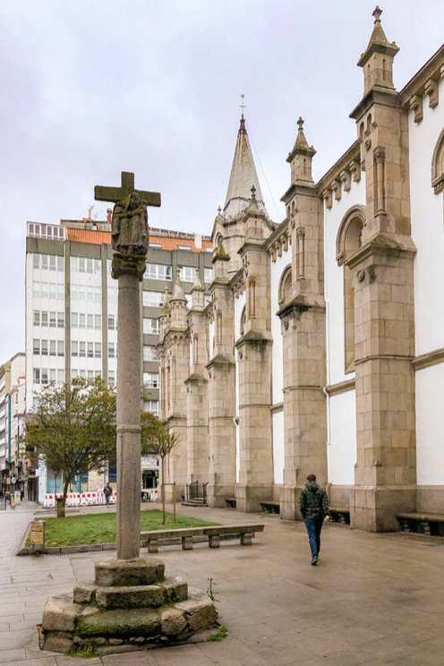 A-Coruña-Old-Town,-Spain-2