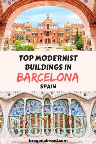 Barcelona is famous for its architecture, so here are my suggestions for top Modernist buildings in Barcelona you shouldn't miss on your next visit. #Barcelona #architecture #Spain #Modernism