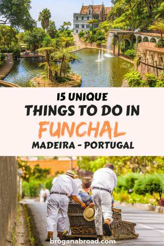If you're planning a trip to Madeira, these are my recommendations for some unique places to visit and things to do in Funchal, including day trip ideas. #Funchal #Madeira #Portugal #travel