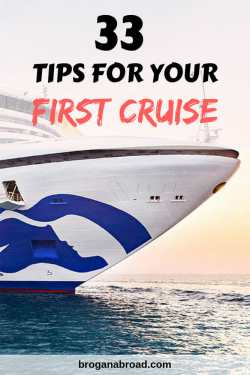 33 First Time Cruise Tips - Everything You Need to Know before Your First Cruise