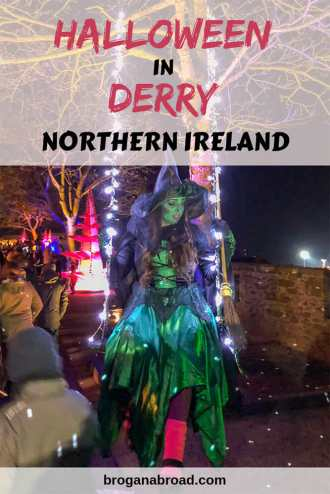 Derry, or Londonderry, has been voted the number one Halloween destination in the world. Here's what to expect for Halloween in Derry, Northern Ireland. #Derry #Londonderry #Ireland #NorthernIreland #Hallloween