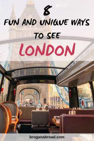 Planning a trip to London? If you're looking to experience the best of the city in a quirky way, here are a few ideas for fun and unique ways to see #London. #alternativelondon #england #uk #travel
