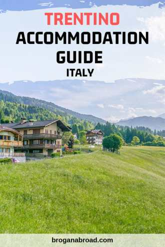 Confused about accommodation in Trentino? I explain the difference between a Trentino hotel, an albergo, an agriturismo and a b&b including recommendations. #Trentino #Italy #Dolomites #accommodation