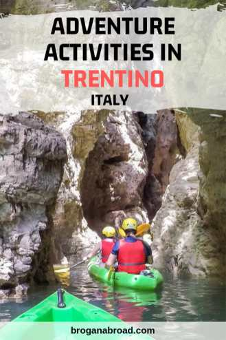 Trentino is a playground for the adventurous with many exciting things to do. Here are a few ideas to help yo plan your action-packed Trentino adventure. #Trentino #Italy #Dolomites #adventuretravel #outdoors #activeholidays