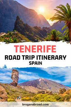 The Perfect Itinerary For a Road Trip in Tenerife