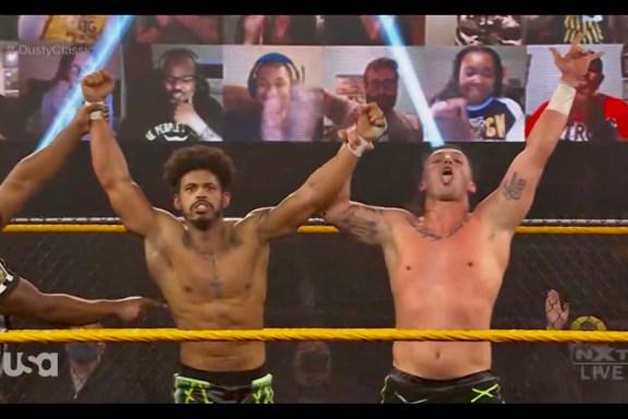 MSK debut in NXT