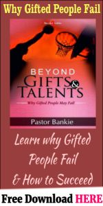 Beyond Gifts and Talents