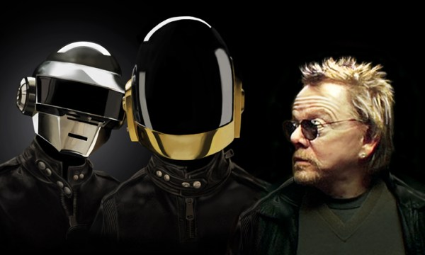 Daft Punk et Paul Williams un des collaborateurs de l'album Random Access Memories
