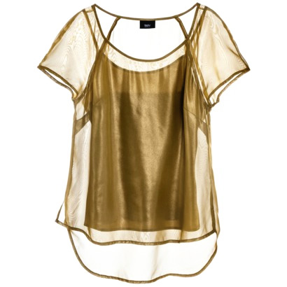 Golden Jellyfish Shirt (Mossimo from Target) $11