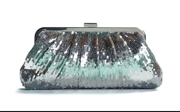 Lulu Townsend Ombre Sequin Clutch