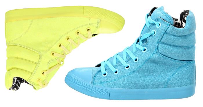 Neon Sneakers under $75!