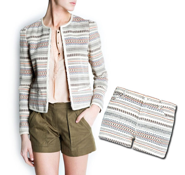 Patterned Suit from Mango