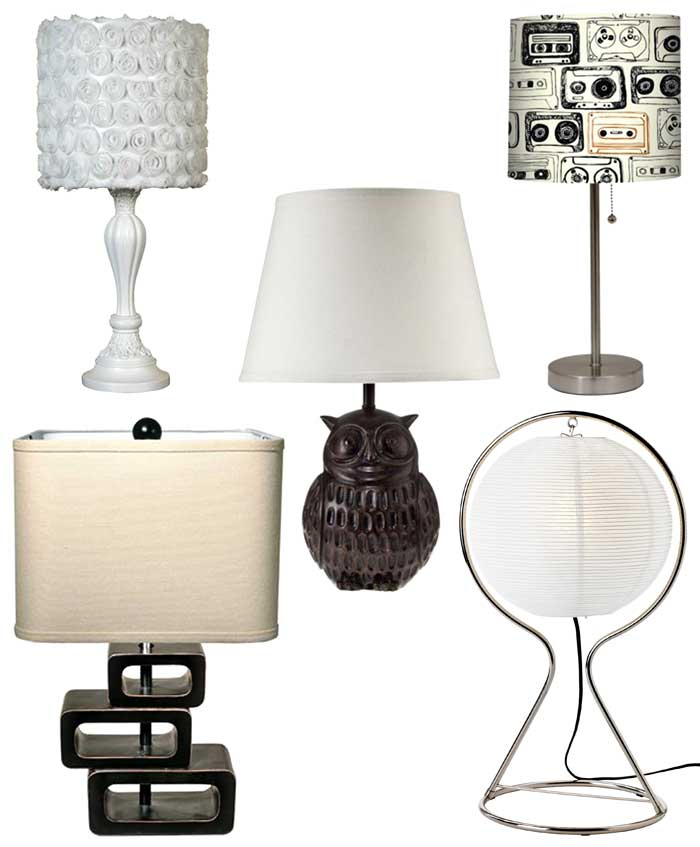 Tall Affordable Table Lamps