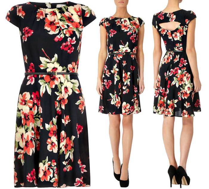 Dorothy Perkins Warm Floral Dress