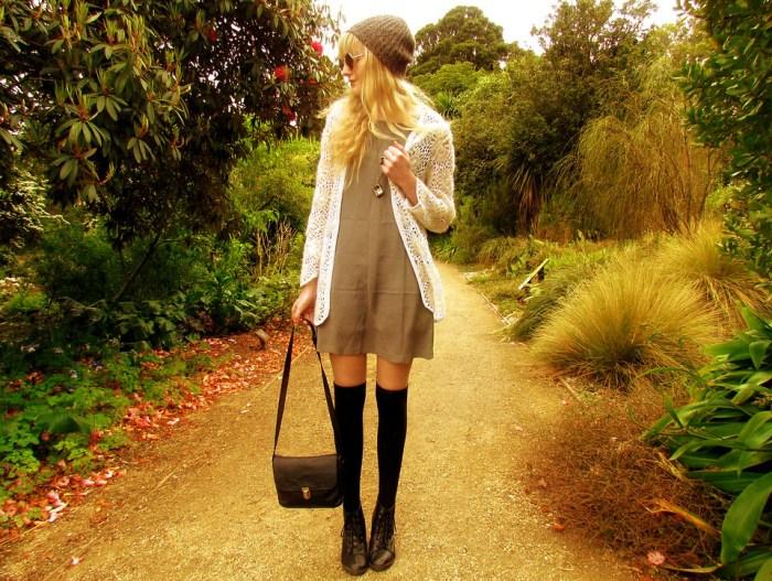 grayscale summer dress