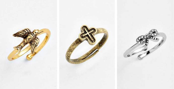 Midi Rings over $20